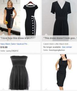 eBay collections Little Black Dress