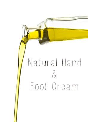 Natural hand and foot cream! #DIY #Green #Beauty
