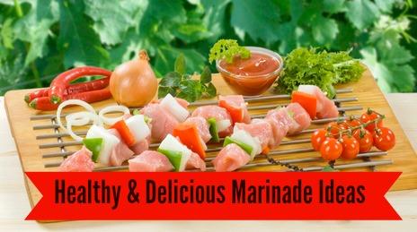 Healthy & Delicious Marinade Ideas #grilling #summer
