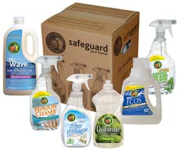 Safeguard Your Home Green Cleaning Kit #Green #SpringCleaning