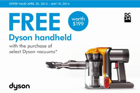 Dyson Mother's Day Sale