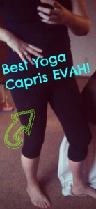 Organic Cotton Yoga Capris for Working Out