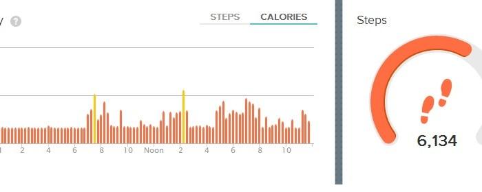 Fitbit Flex Review: Telling me I don't move enough. Duh. #Health #fitness #kickinthepants