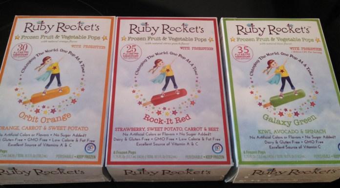 Ruby Rockets a Healthy Summer Treat