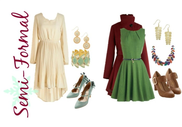 Modcloth Holiday Fashion Board Semi Formal