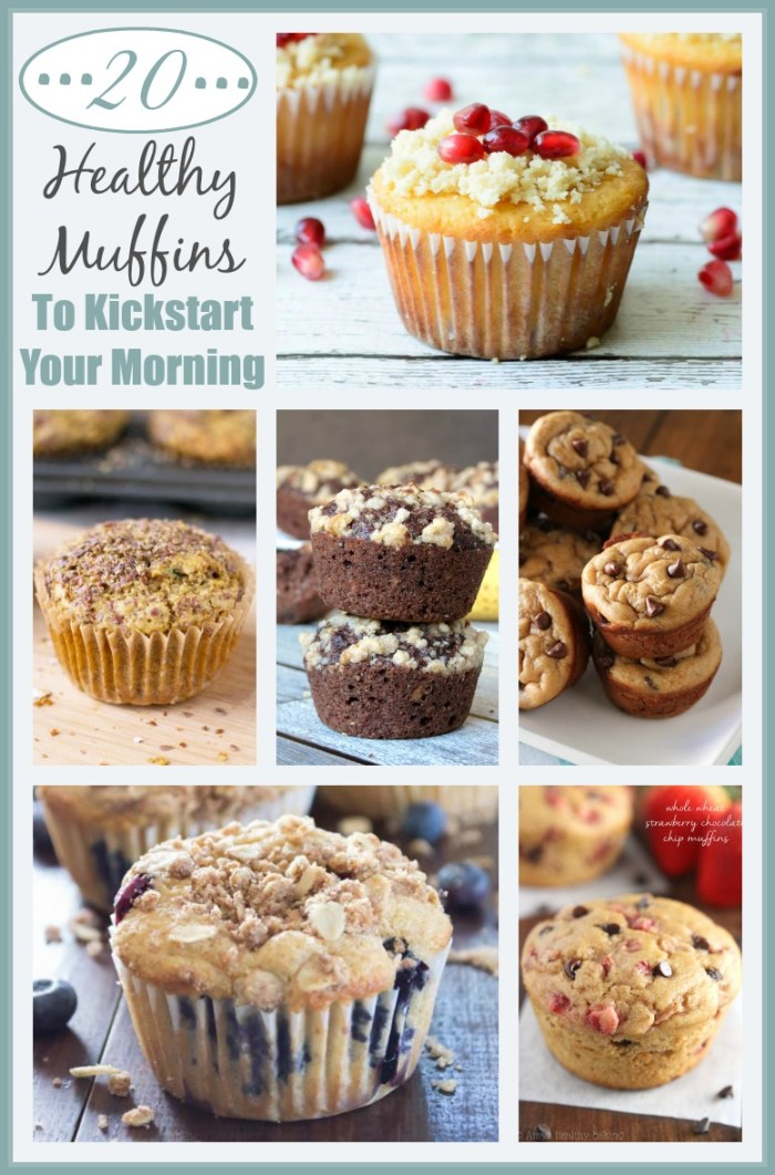 Healthy Muffin Recipes