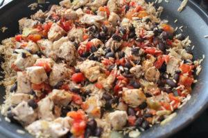 One Dish Burrito Bowl #EasyDinner #Healthy