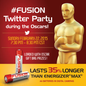 #Fusion Twitter Party During the Oscars #Win #Ad