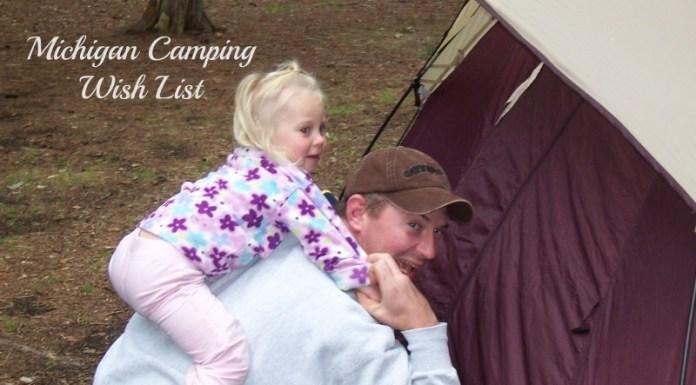 Michigan Camping Wish List #camping #Michigan