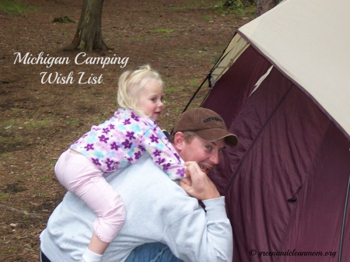 Michigan Camping Wish List  #camping #Michigan