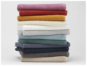 Coyuchi Air Weight organic towel collection
