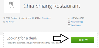 Groupon Pages for Restaurant Deals