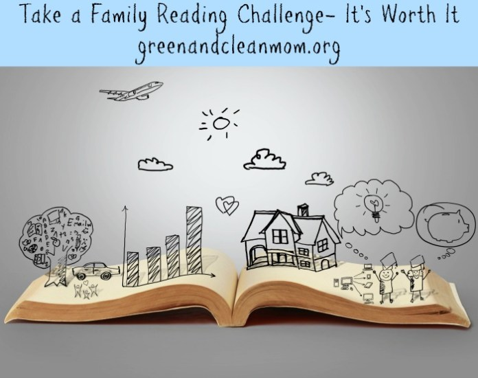 Take a family reading challenge - the lessons learned are worth it! #Read20