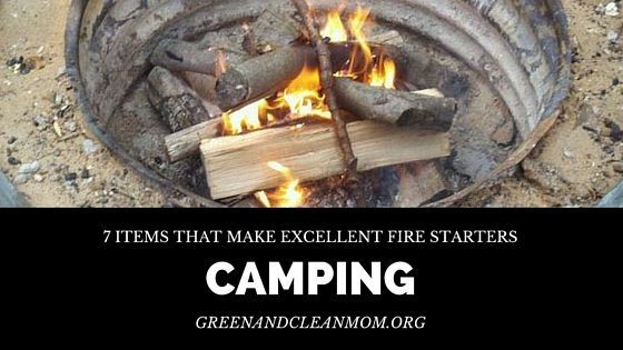 7 Items that Make Excellent Fire Starters