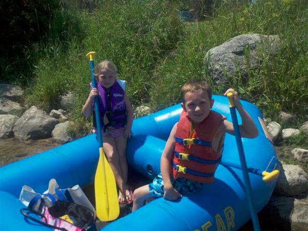Summertime Memories of Rafting