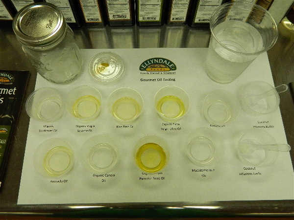 NOW Foods oil taste testing to learn about the high quality of their oils and the cooking oil differences.