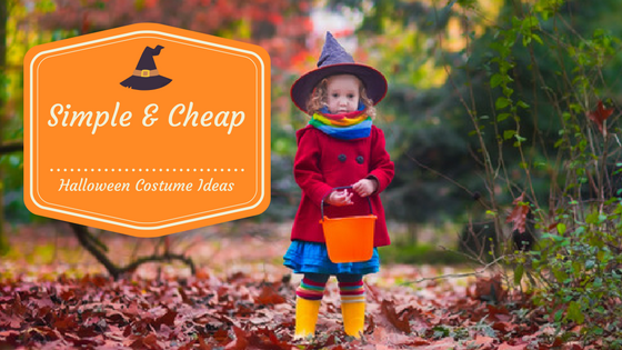 Simple and Cheap Halloween Costume Ideas