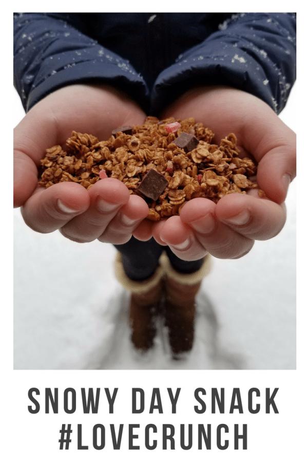 Snowy Day Snack #LoveCrunch