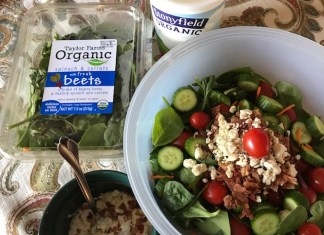 Homemade Greek Yogurt Blue Cheese Salad Dressing