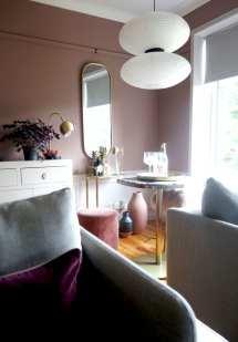Sulking Room Pink Lounge Reveal Interior Design Uk