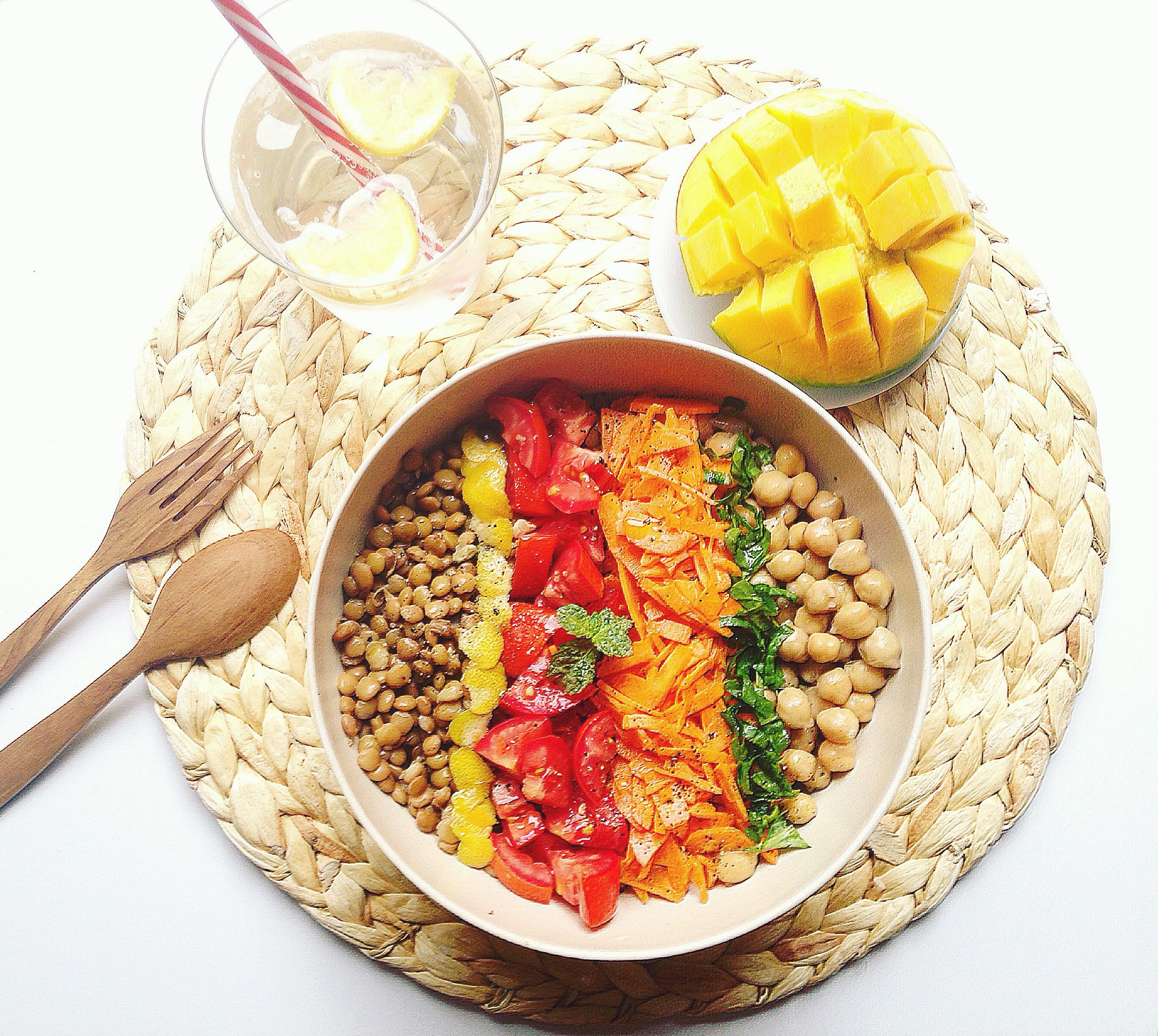 Colorful salad!