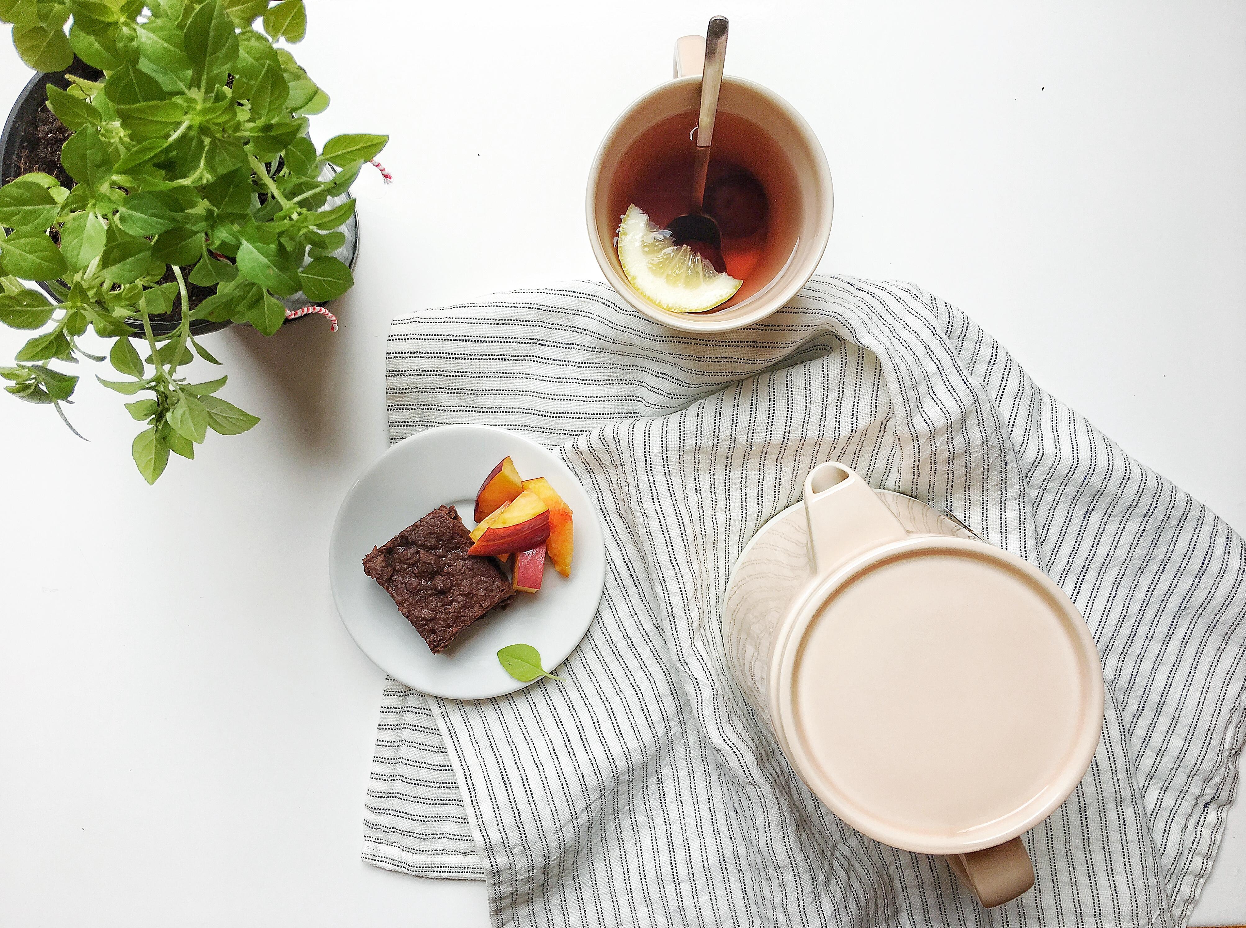 Brownie saludable de coco