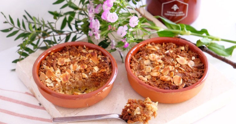 Delicious easy gluten free crumble !