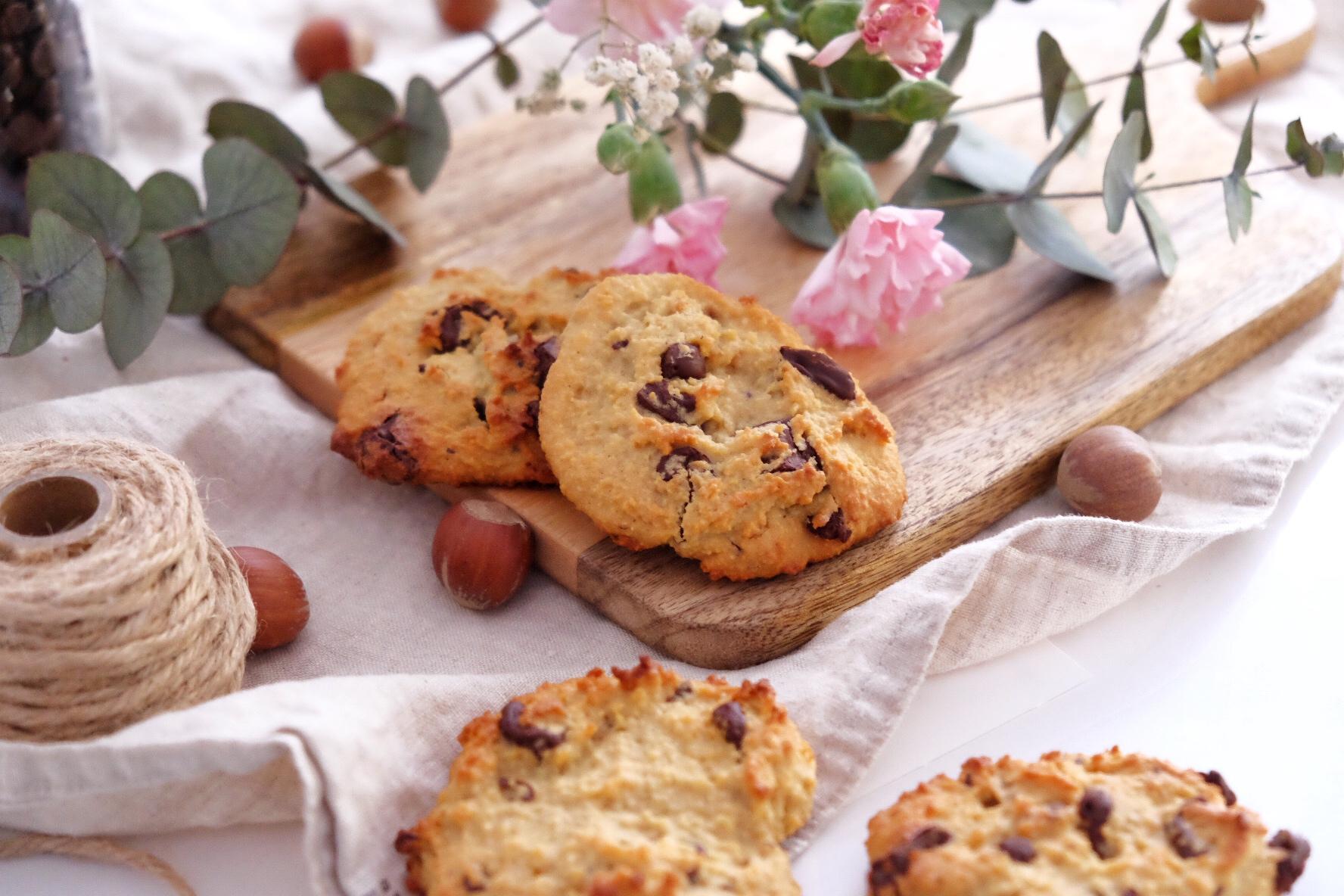 Deliciosos cookies de almendra sin gluten