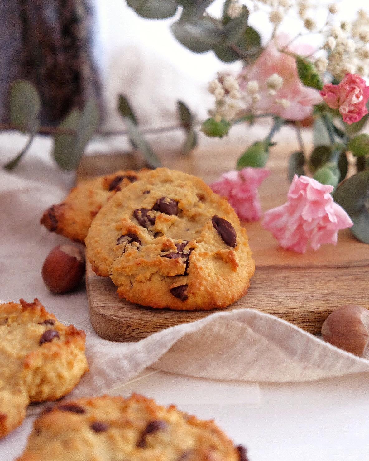 Deliciosos cookies de almendra sin gluten.