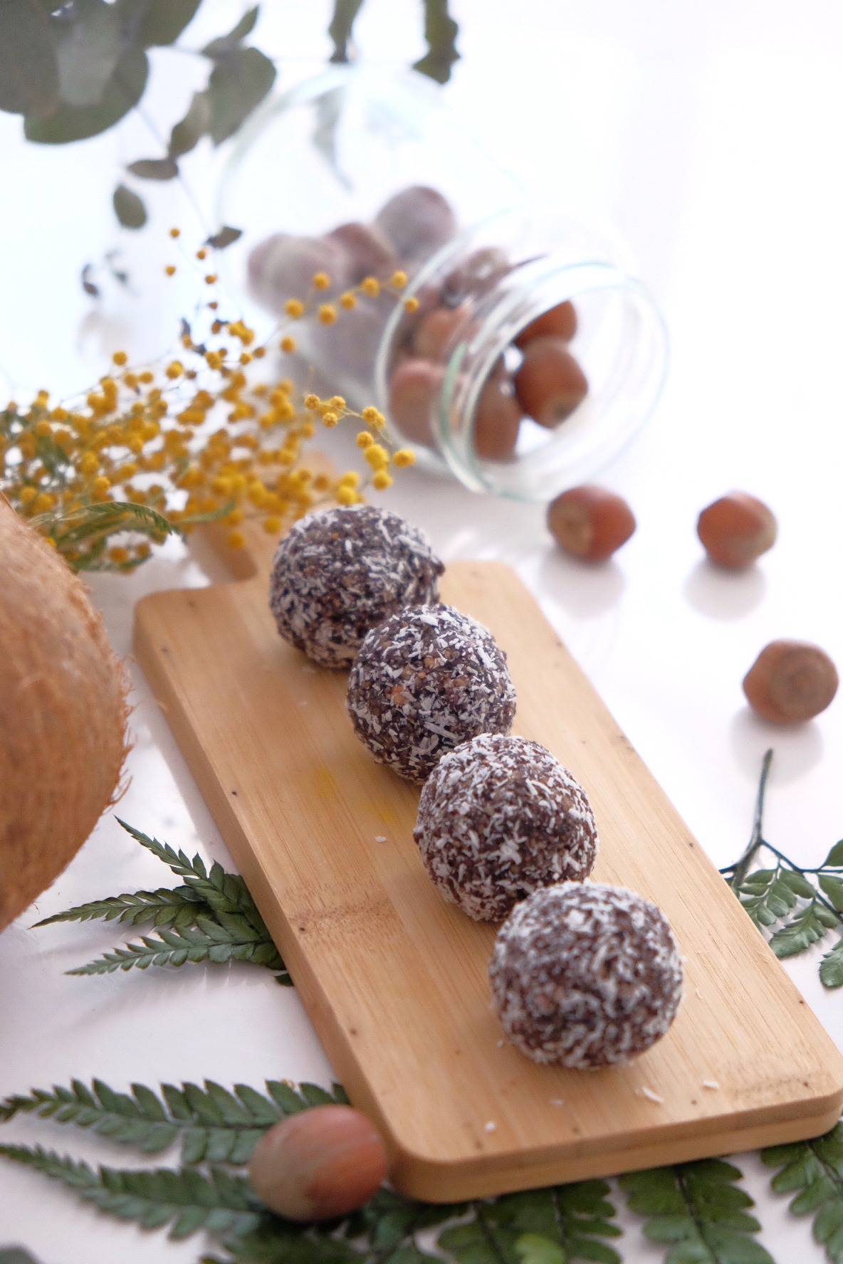 Las power balls sin gluten