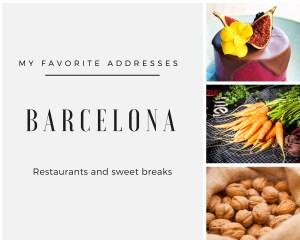 Free guide favorite restaurants in Bacelona