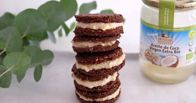 GLUTEN-FREE RAW OREO BISCUITS