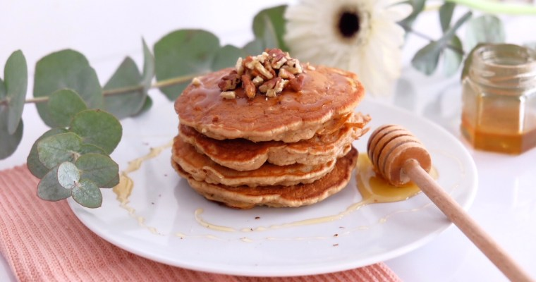 CARROT CAKE LIKE PANCAKES