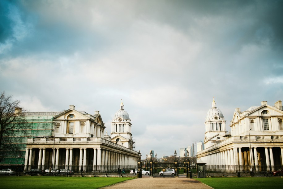 Greenwich naval college by london based photographer
