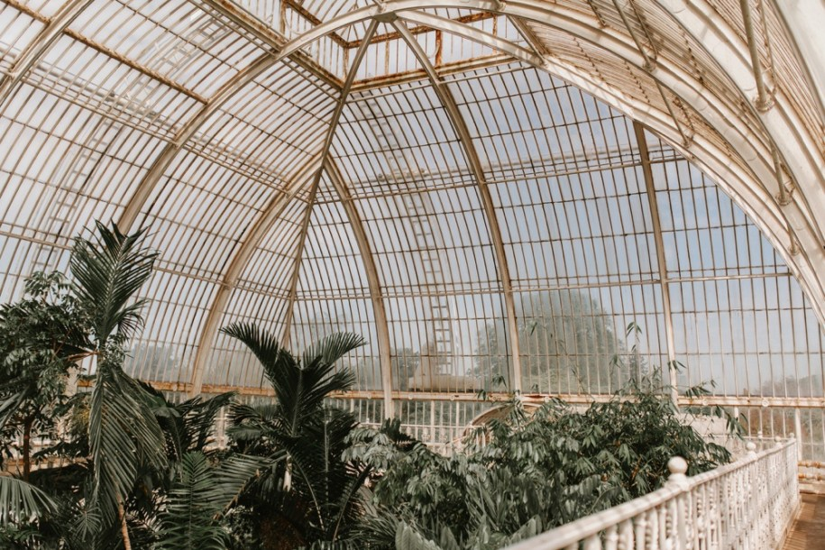 Kew gardens in South West London