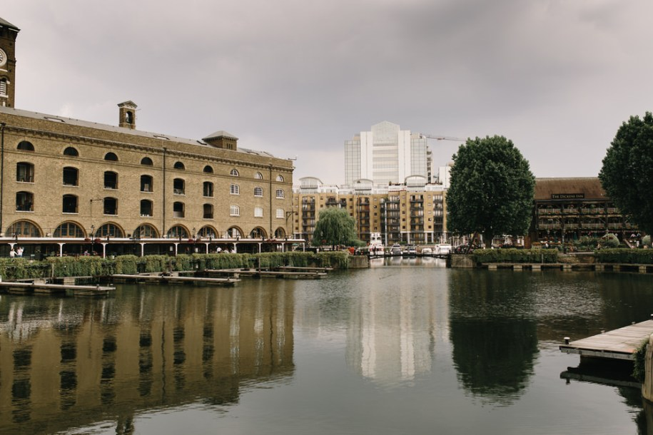 London hidden gems St. Katherine's Docks