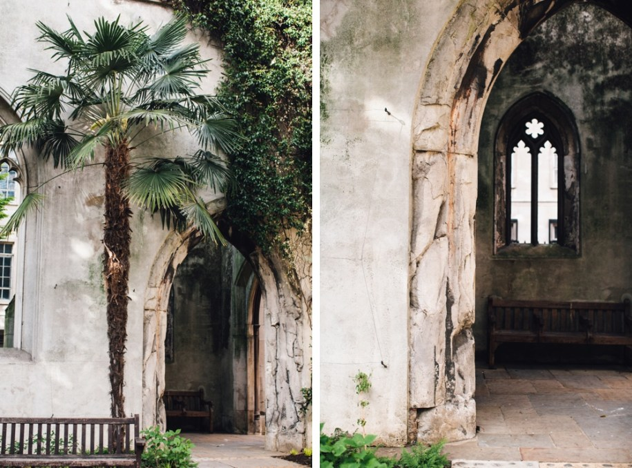 London's hidden gems St. Dunstan in the East Church