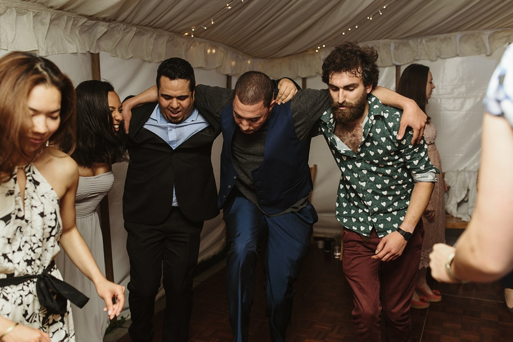 marquee wedding guests dance