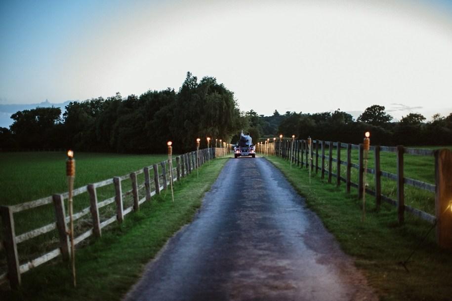getaway car after wedding