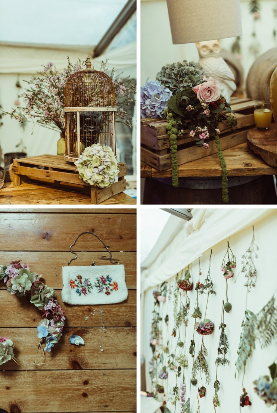 wedding flowers and decorations for New Forest Wedding