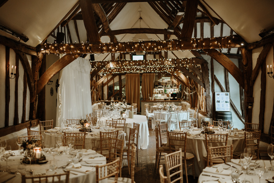 Old Luxters Barn Wedding Venues UK
