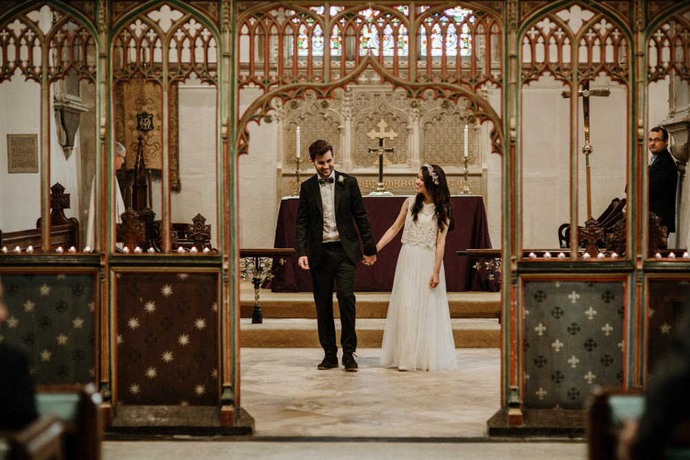 religious ceremony by Bristol wedding photographer