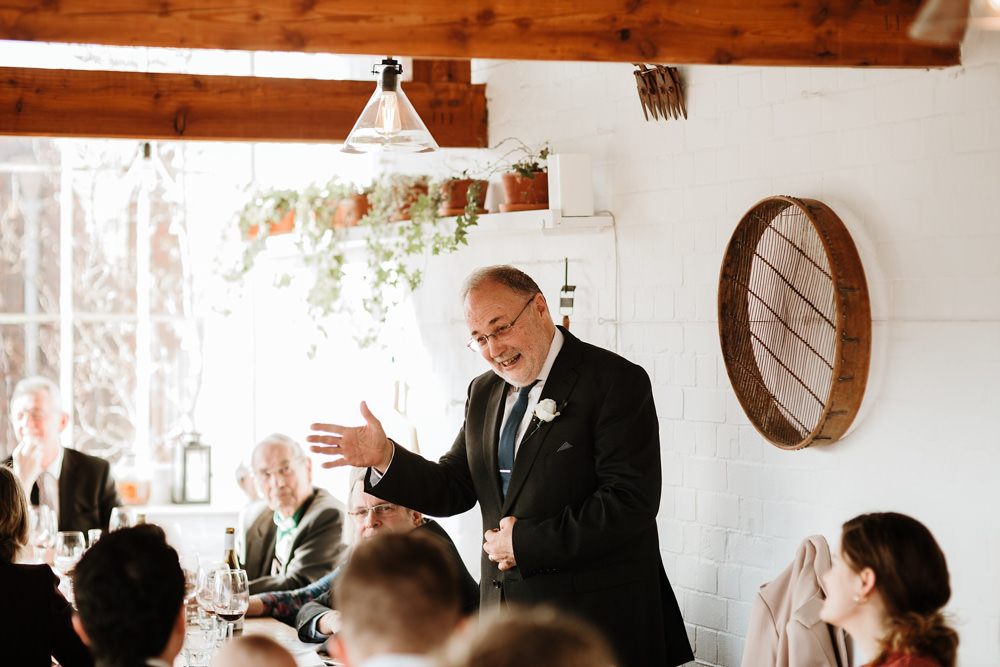 father of the bride speech at the ethicurean wedding reception