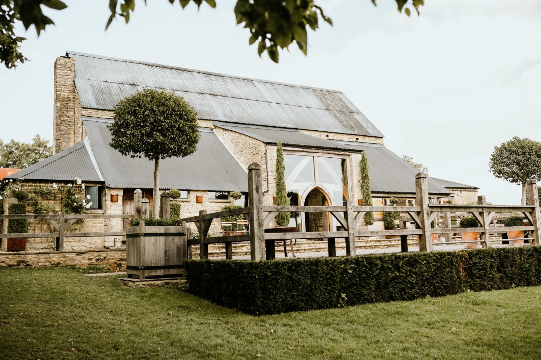 stone wedding venue barn Cotswolds
