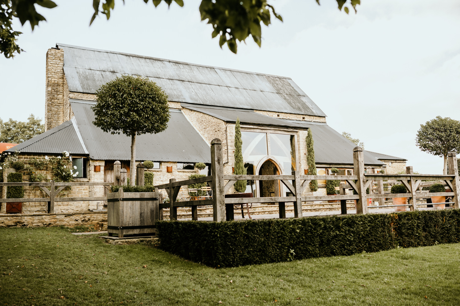 stone wedding venue barn Cotswolds