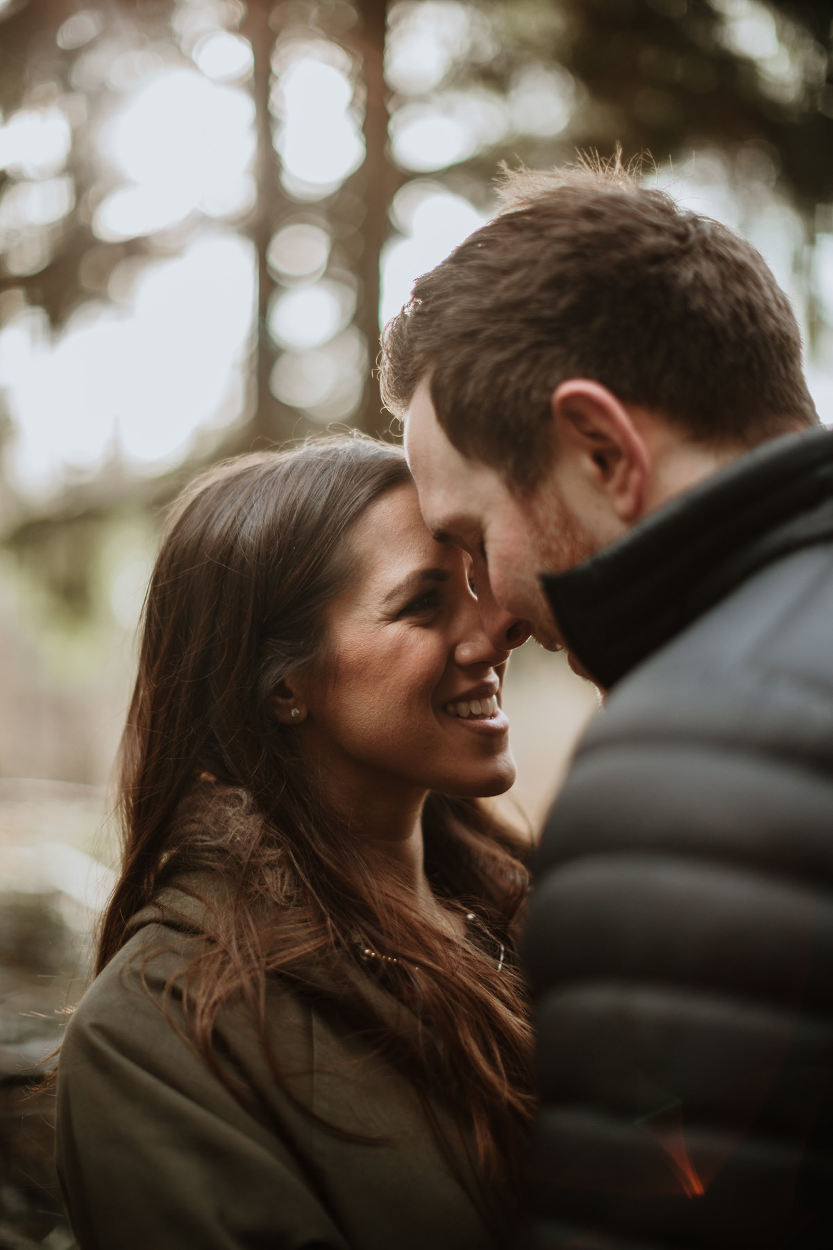 Wyre Forest engagement photo shoot