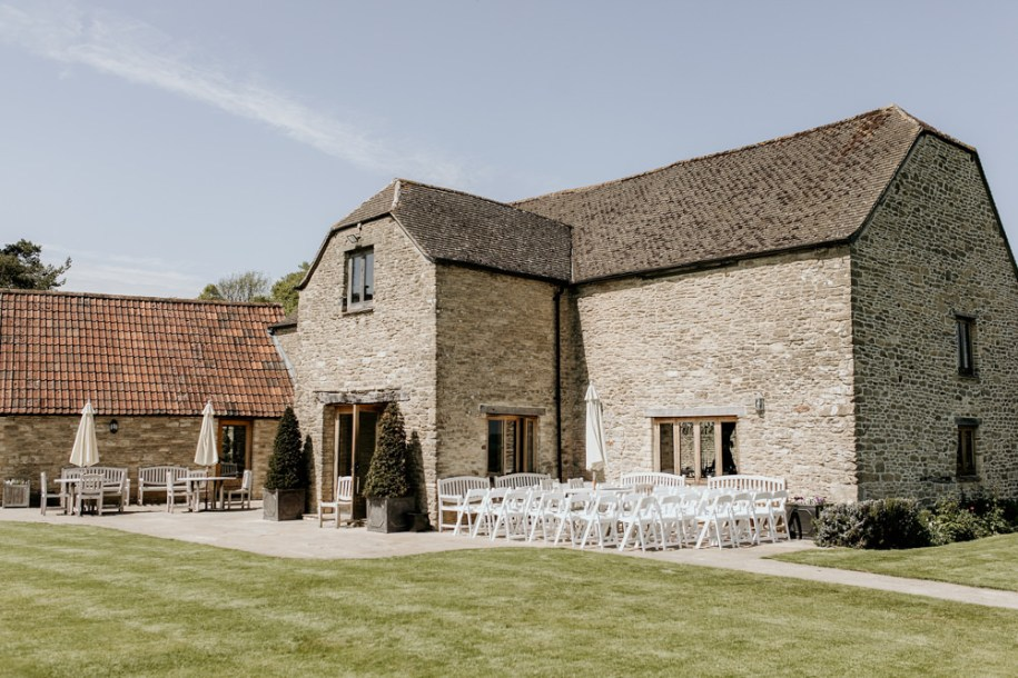 The Kingscote Barn Wedding venue