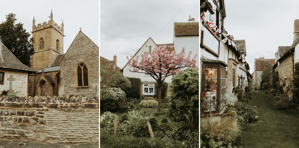 houses and nooks in the cotswolds countryside