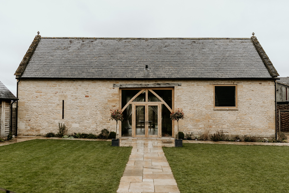 Cotswolds stone barn The Barn at Upcote by Cotswolds wedding photographers