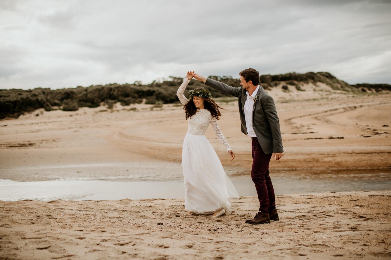 ethically made wedding dress for a scotland wedding